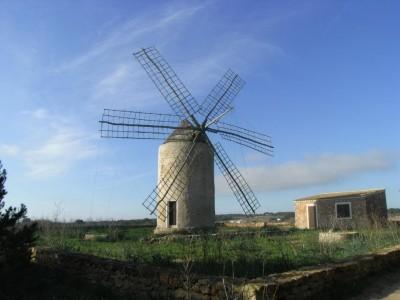 Old Mill of La Mola