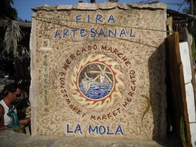 La Mola craft market