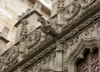 Gargoyles in Valencia
