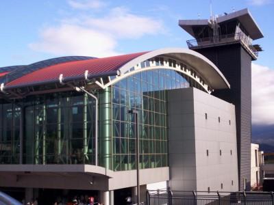Santamaría Airport control tower