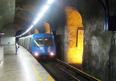 Subway in Rio de Janeiro