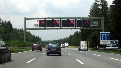 Highway in Germany