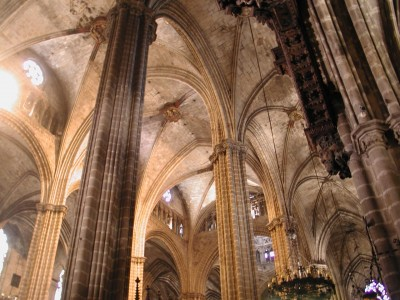 Cathedral columns