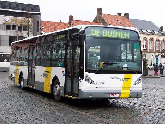 Interprovincial transport Belgium