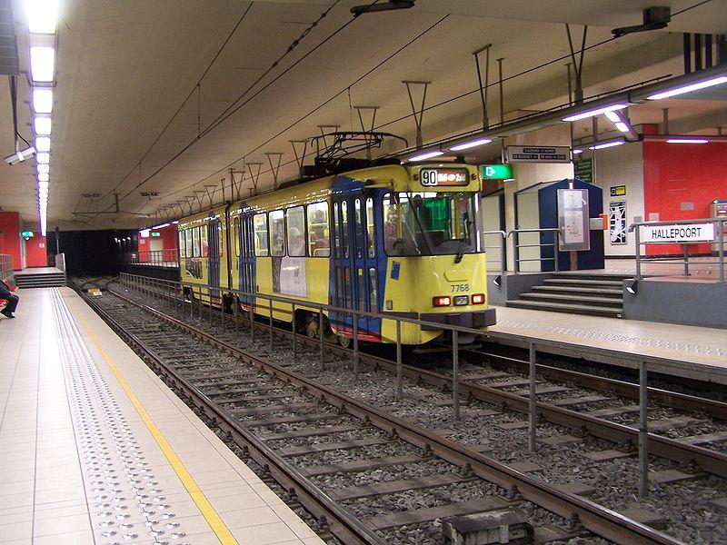 Tram in Brussels