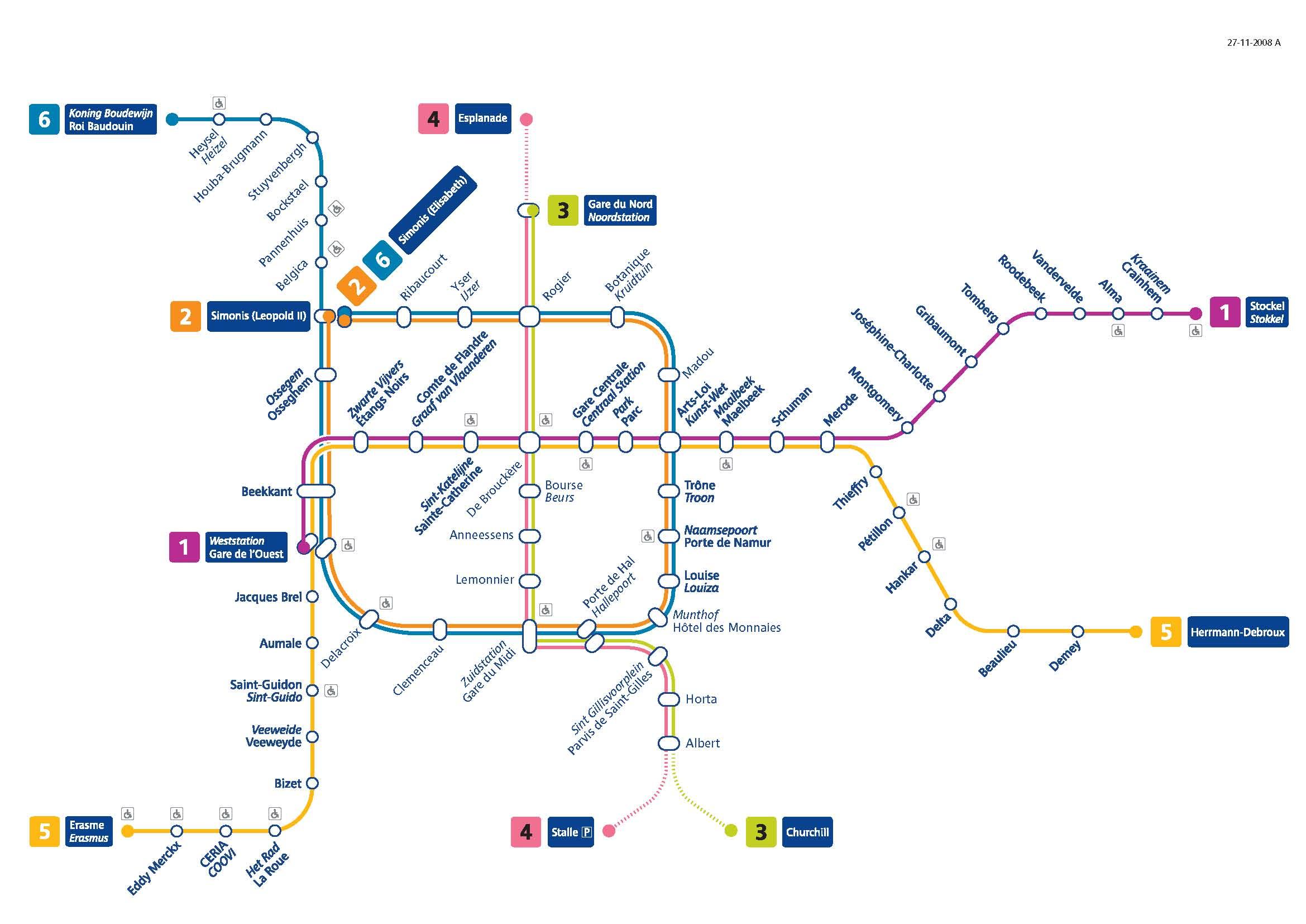 Metro- Brussels