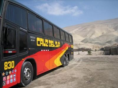 Bus to Cuzco