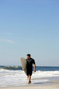 Surf in Morocco out of the sea