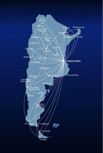 Aerolineas Argentinas Route