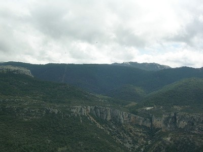 Routes through Cazorla sierra
