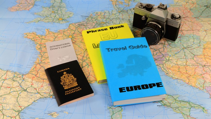 Guides for traveling in Europe