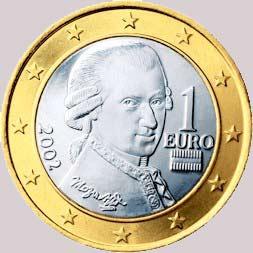One euro coin Austria