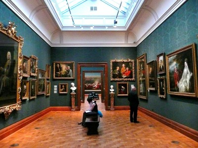 Interior of the National Portarit Gallery