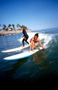 surfer à Tenerife pratiquer