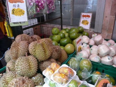 Exotic fruits in London