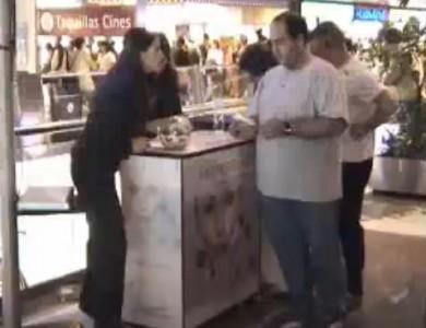 Prince Pio Shopping Center serving the public