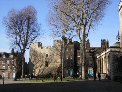 Inner courtyard of the Tower of London