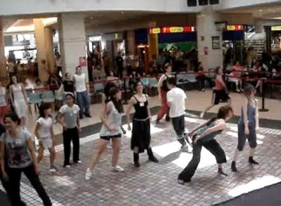shopping center in Zaragoza dance workshop in Augusta