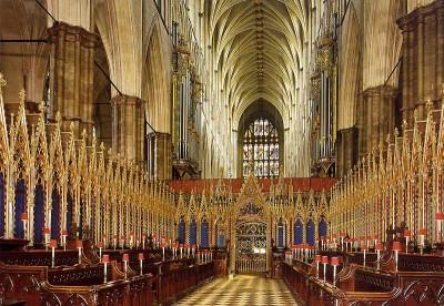 Intérieur de l'abbaye
