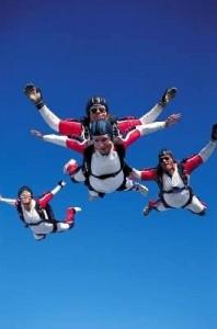 cours de parachutisme débutants et avancés