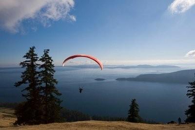 Cours de parachutisme descendant