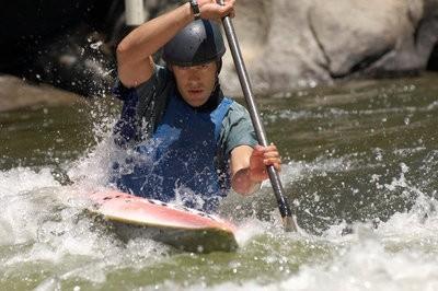 kayaking courses practicing
