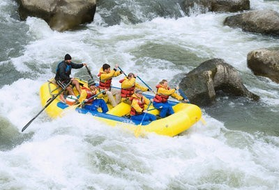 rafting in Madrid fast