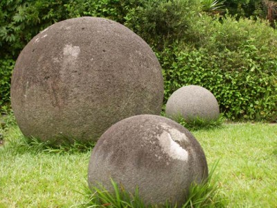 Stone spheres in the National Museum