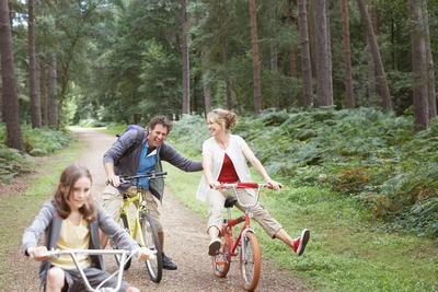 outdoor activities cycling