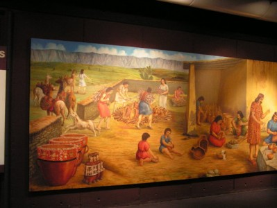 Mural of the National Museum