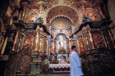 Altar of Lima Cathedral