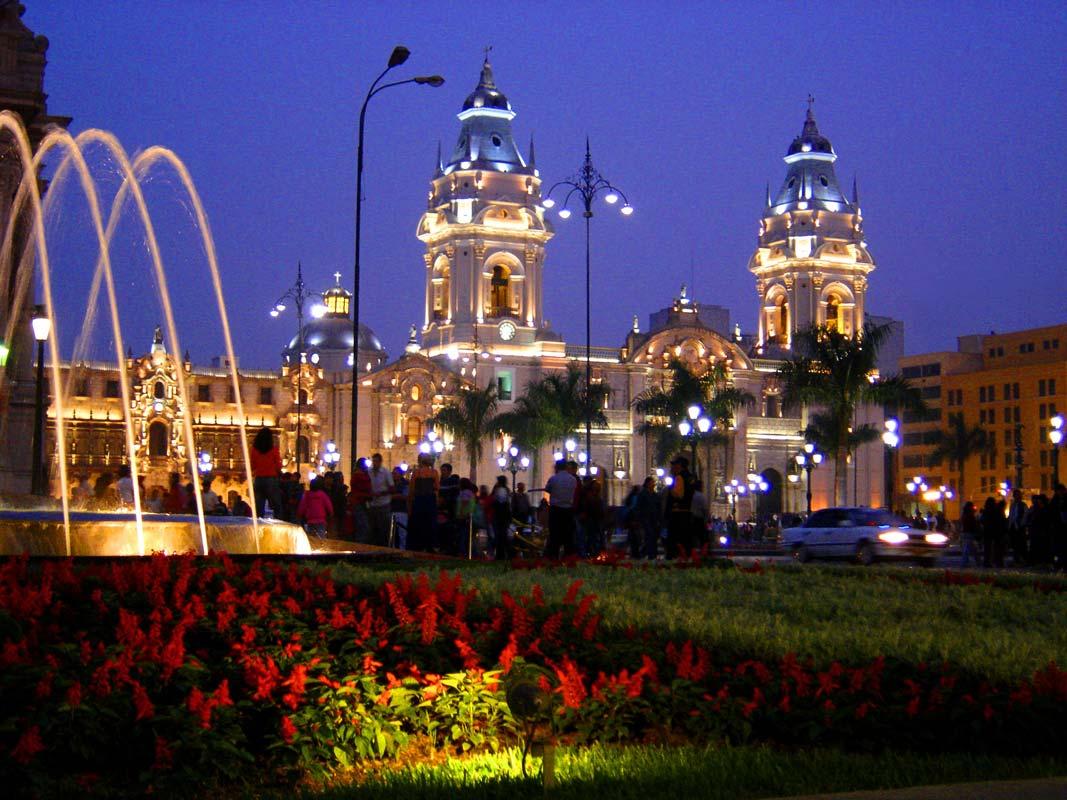 The Anniversary of Lima Peru