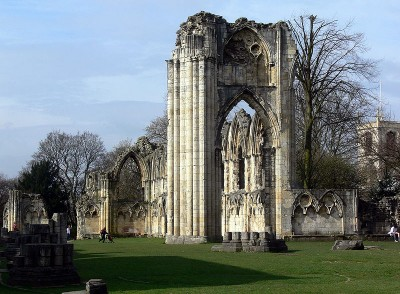 monuments in the United Kingdom Remains of the Abbey of Saint Mary