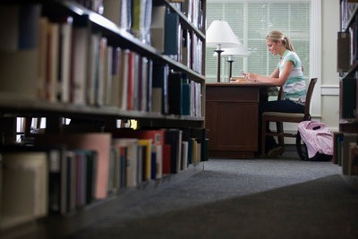 UNESCO scholarships in library