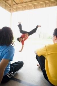 Angola and capoeira dance