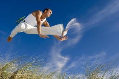 Angola and capoeira jump