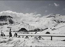 Wallpaper Ski Haystacks