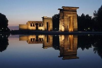Madrid open air Temple of Debod