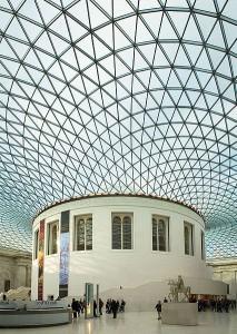 British Museum London Grand Atrium of Elizabeth II