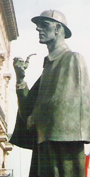 important museums in London statue of Sherlock Holmes