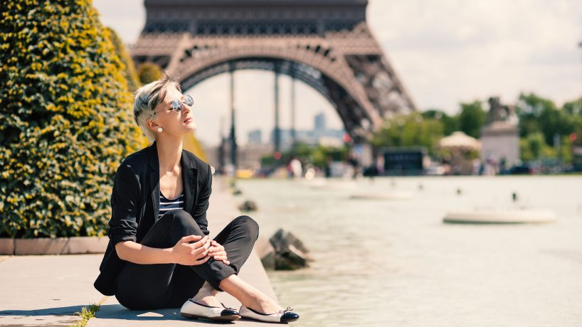 The fashion in Paris
