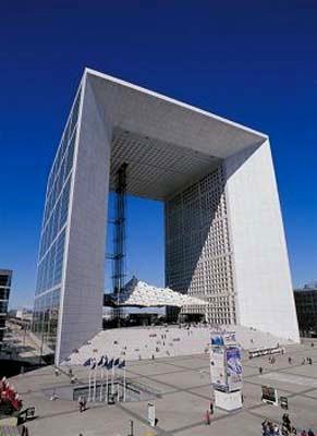 Arc de la Defense in Paris