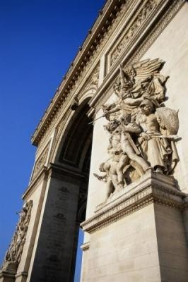 the side triumphal arch