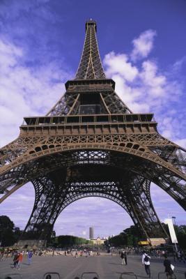 eiffel tower bottom