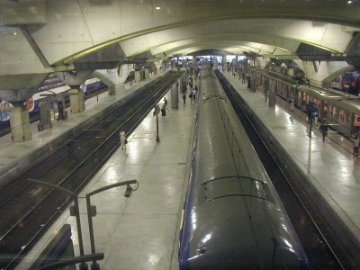 Montparnasse in Paris station