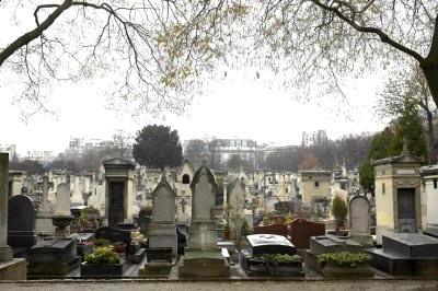 Montparnasse in Paris Cemetery