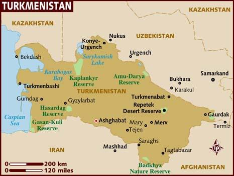x adventure in Turkmenistan