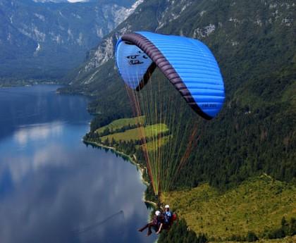 Active tourism Paragliding