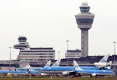 Avions à Schiphol