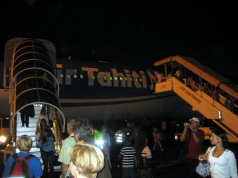 Airplane Tahiti Nui